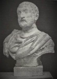 Busto lapideo di Giovanni Alberto Pigafetta erroneamente considerato di Antonio