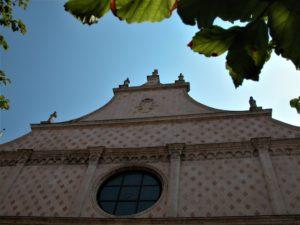Facciata della cattedrale di Vicenza