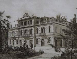 Il teatro verdi Vicenza, bombardato e distrutto nella seconda guerra mondiale