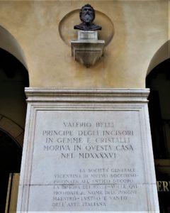 Casa di Valerio Belli in corso Palladio a Vicenza