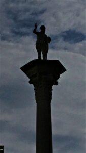 Colonna del Redentore in piazza dei Signori a VIcenza