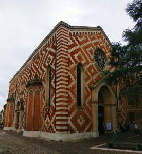 chiesa dei Carmini in corso Fogazzaro a Vicenza