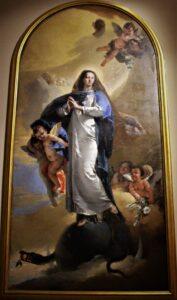 """""""Immacolata concezione"""" di G.B. Tiepolo presso la pinacoteca di palazzo Chiericati (VI)"""
