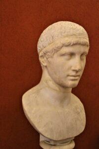 Testa di atleta, II secolo d.C., Museo Archeologico di Vicenza