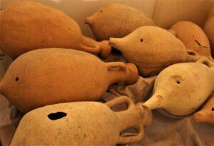 Anfore di epoca romana rinvenute a Vicenza