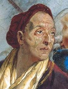 Autoritratto di G.B. Tiepolo. Photo dal web