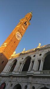 La torre Bissara in piazza dei Signori a Vicenza