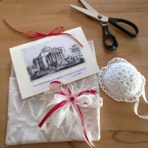 Mi sono divertita a realizzare questo biglietto fai-da-me per una visita guidata regalo a villa La Rotonda