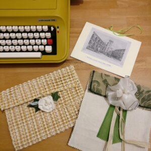 Alcuni biglietti regalo realizzati con la mia amata macchina da scrivere