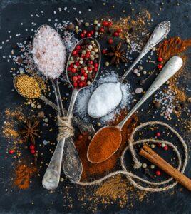 Mix di spezie. Foto di Daria Yakovleva da Pixabay